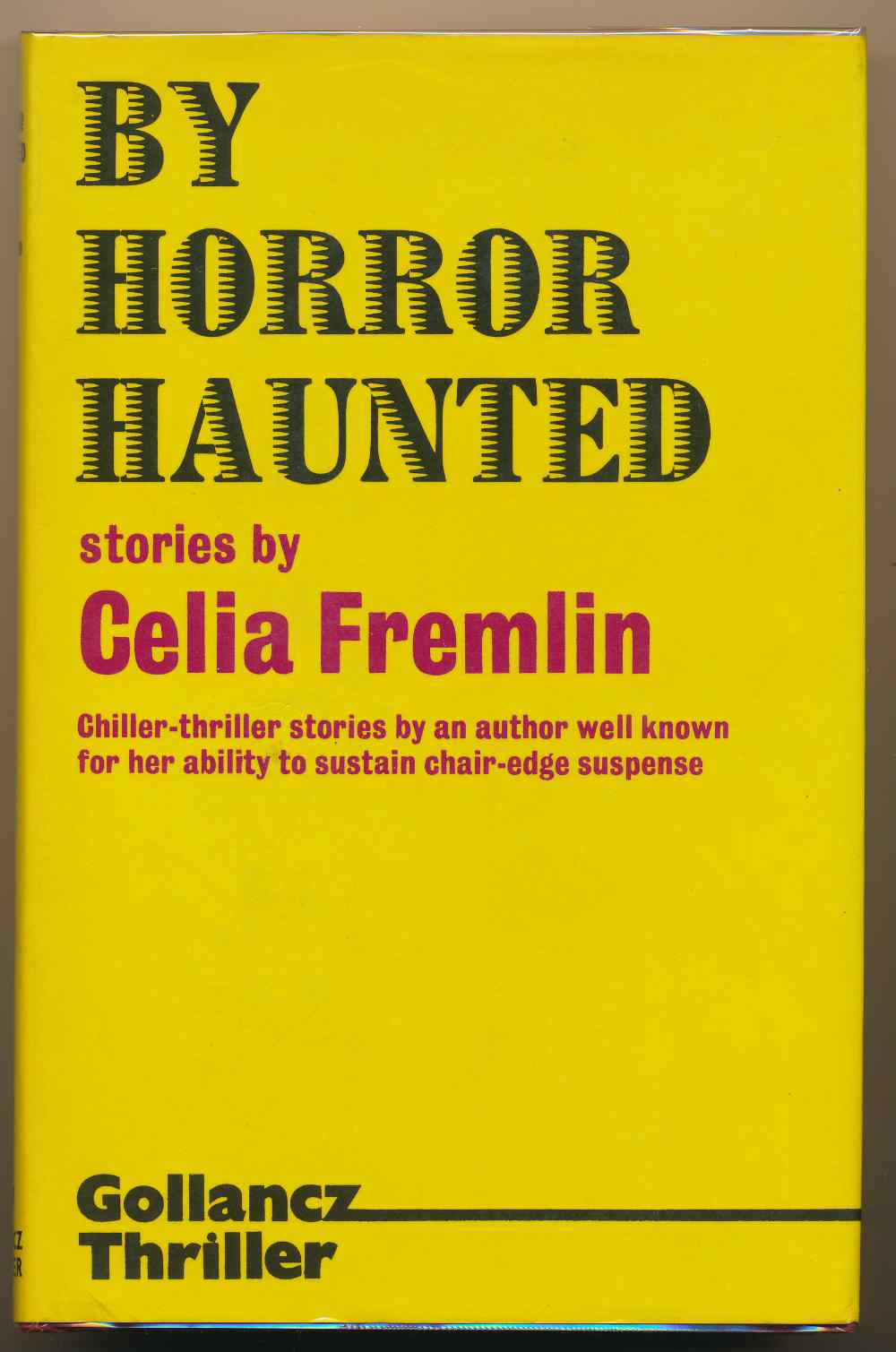 By horror haunted : stories
