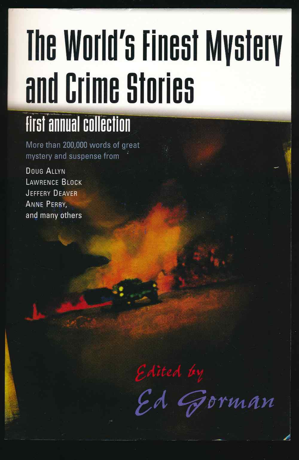The world's finest mystery and crime stories : first annual collection