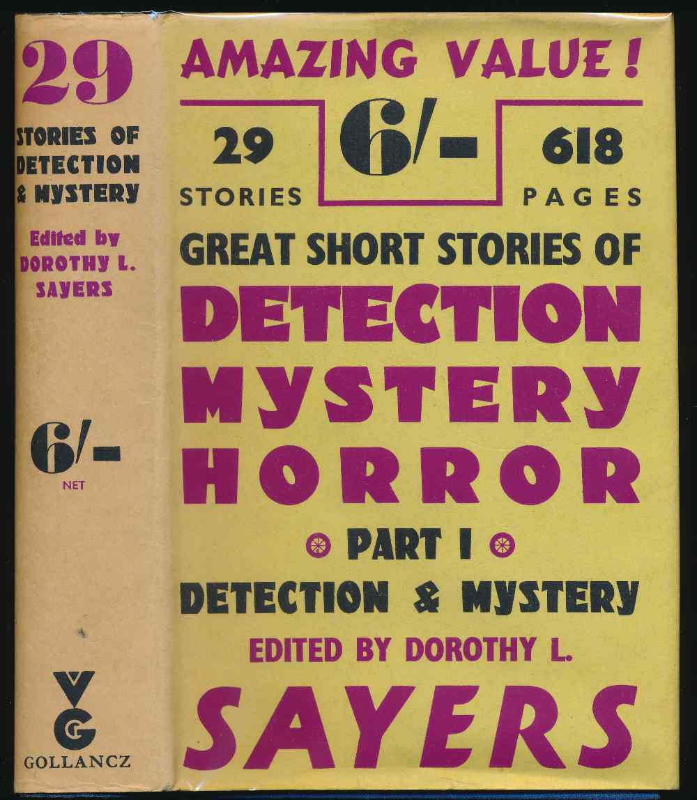 Great short stories of detection, mystery and horror. Part 1, Detection and mystery