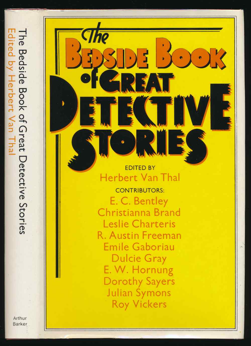 The bedside book of great detective stories