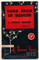 Dark road of danger