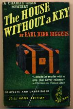 The house without a key: a Charlie Chan mystery