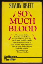 So much blood : a crime novel