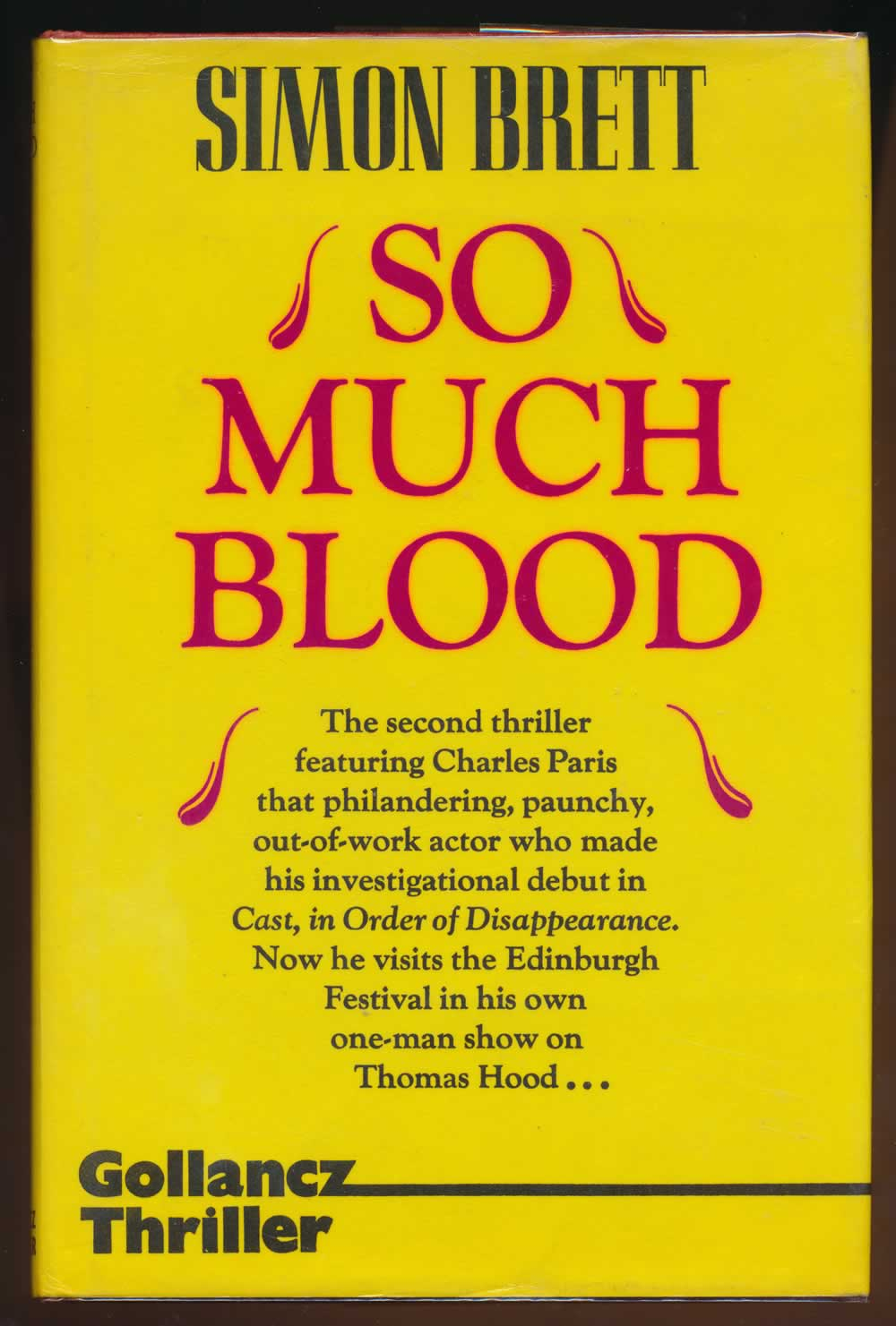 So much blood : a crime novel