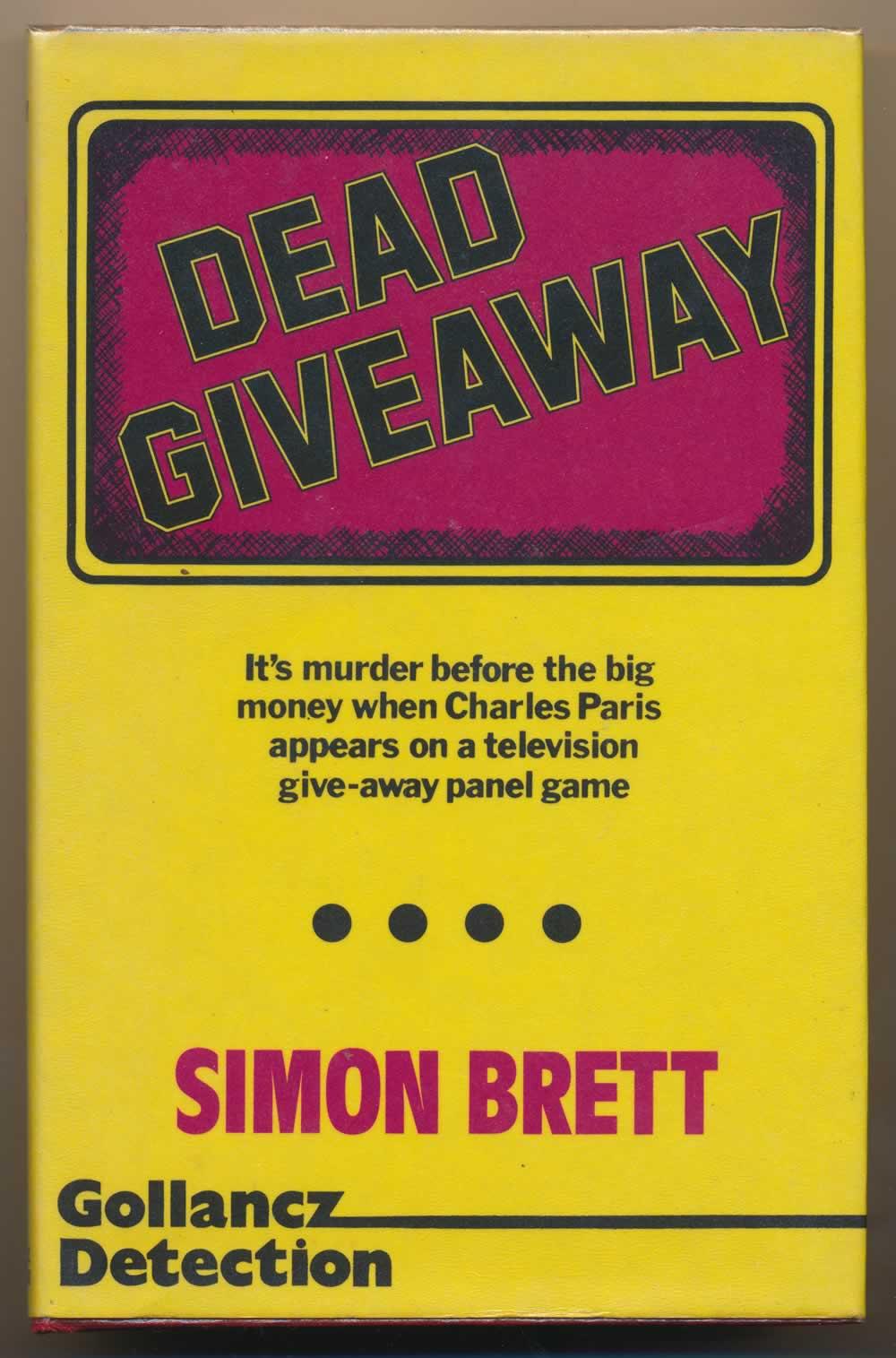 Dead giveaway : a crime novel