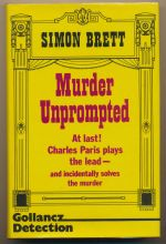 Murder unprompted : a crime novel