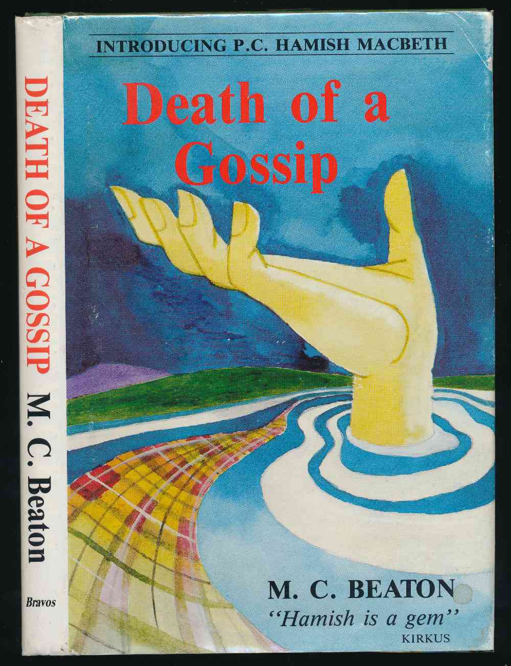 Death of a gossip : introducing P.C. Hamish Macbeth