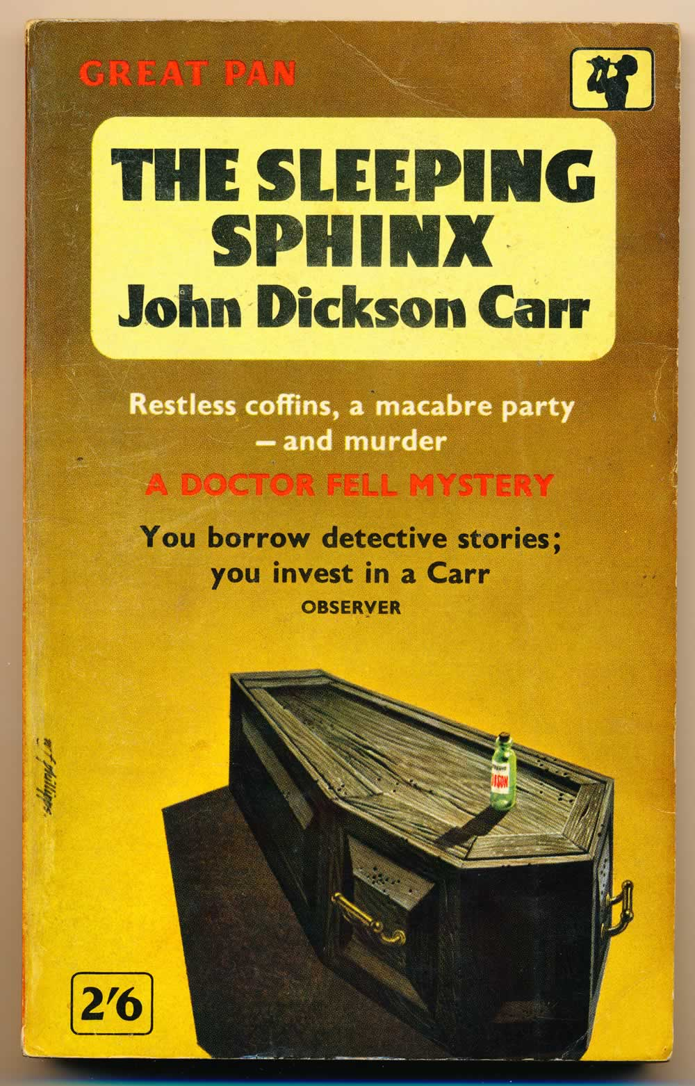 The sleeping sphinx : a Dr Fell detective story