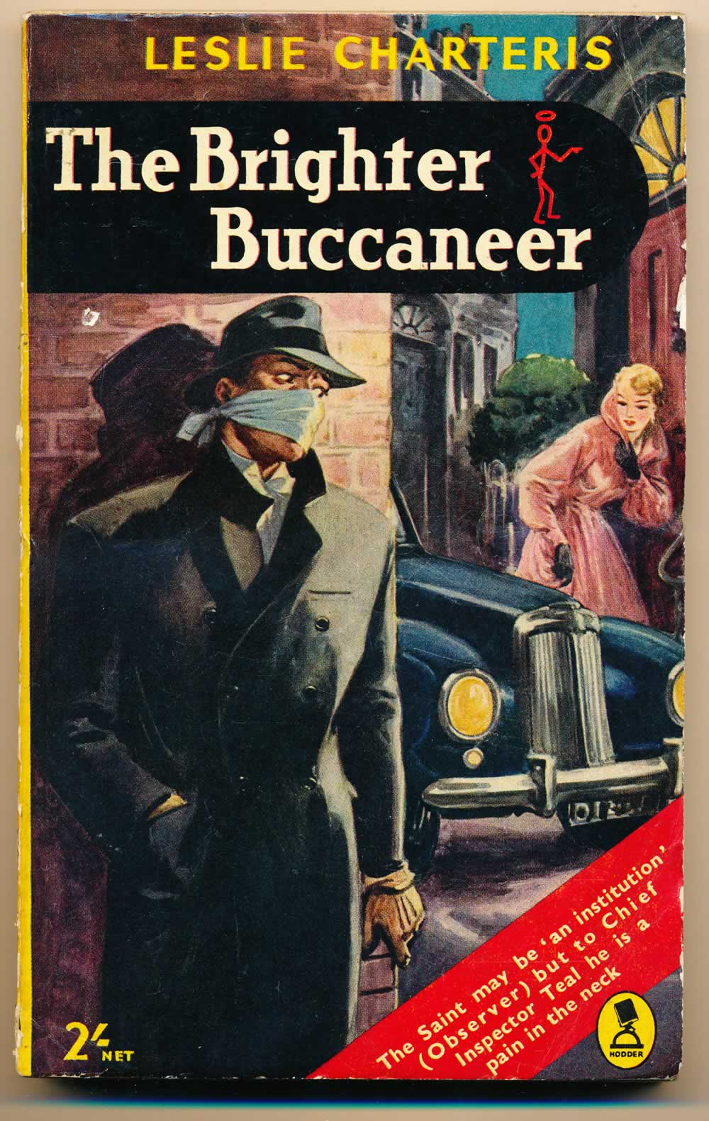 The brighter buccaneer : fifteen Saint adventures