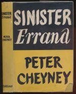 Sinister errand : a novel
