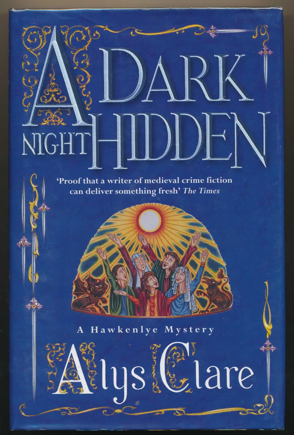 A dark night hidden