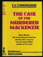 The case of the murdered Mackenzie : a Masao Masuto mystery