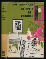 In spite of thunder : a Dr. Fell detective novel