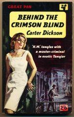 Behind the crimson blind