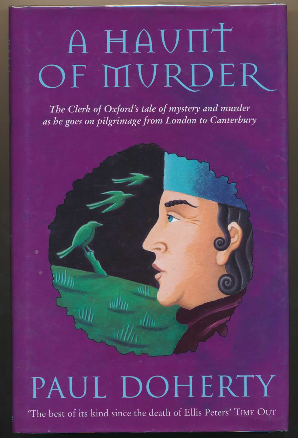 A haunt of murder : the Clerk of Oxford's tale of mystery and murder as he goes on pilgrimage from London to Canterbury