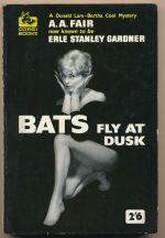 Bats fly at dusk