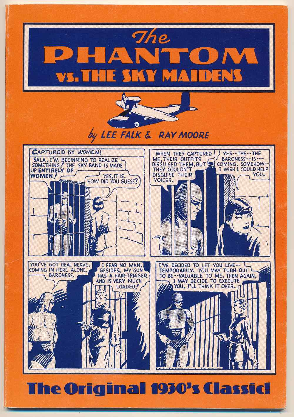 The Phantom vs. the sky maidens