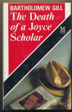 The death of a Joyce scholar : a Peter McGarr mystery