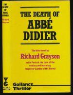 The death of Abbé Didier : a novel