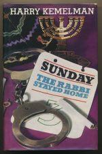 Saturday the rabbi stayed home