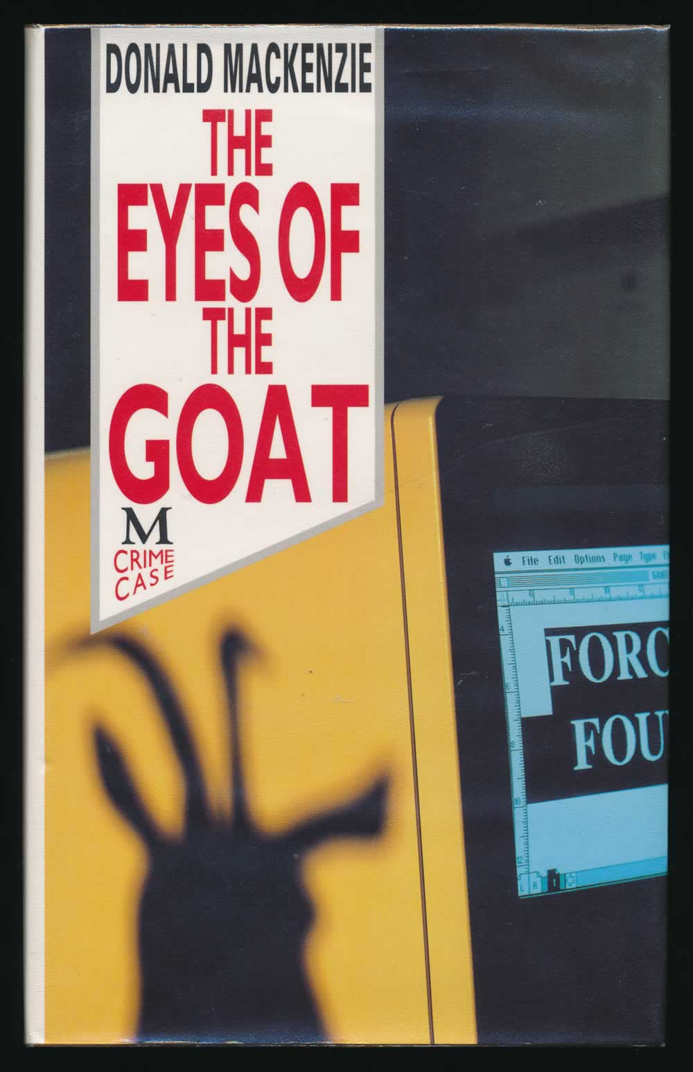 The eyes of a goat