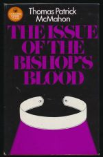 The issue of the bishop's blood
