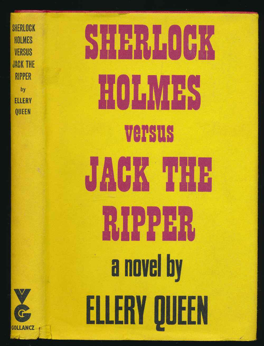 Sherlock Holmes versus Jack the Ripper: a novel