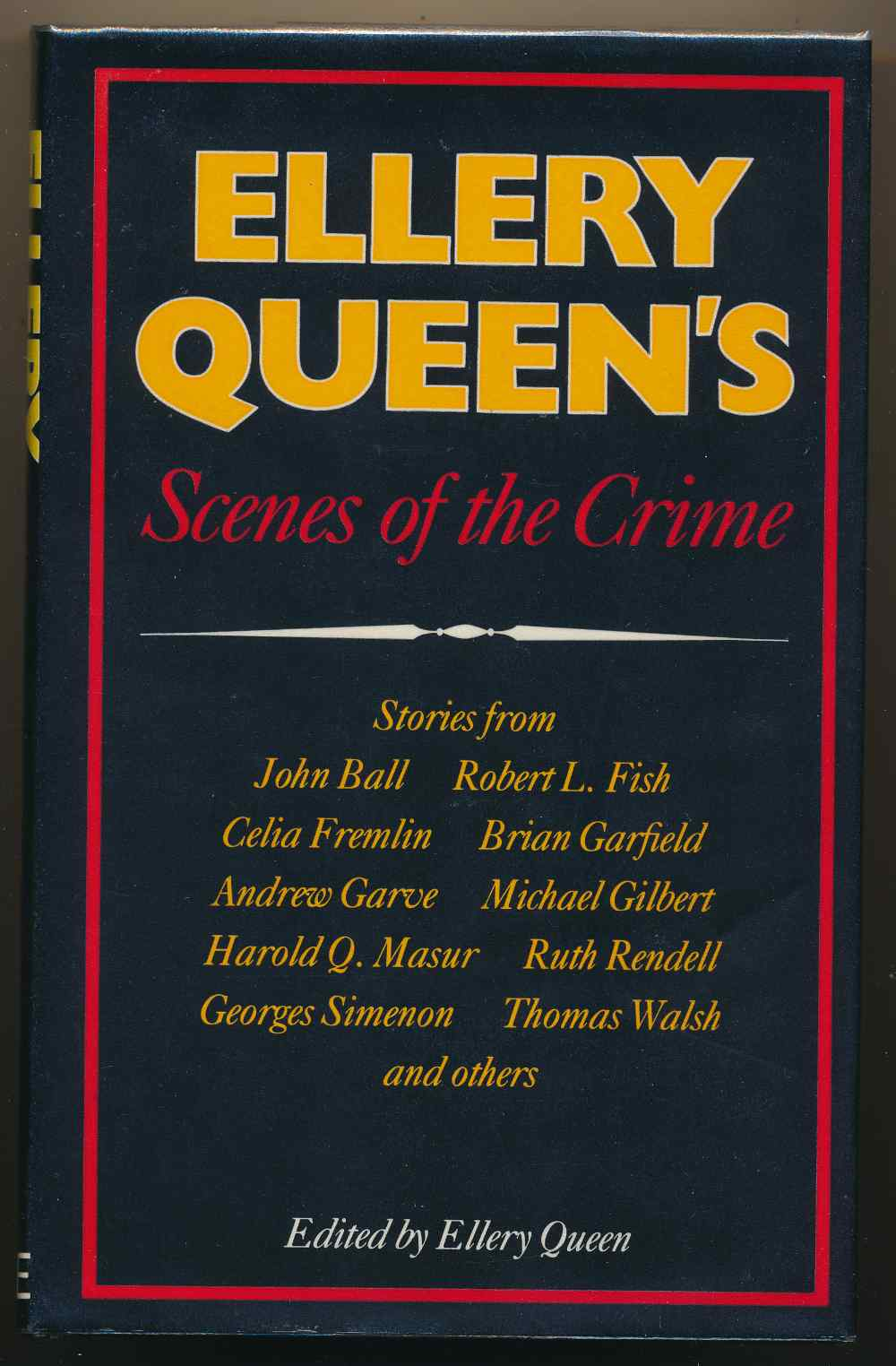 Ellery Queen's scenes of the crime