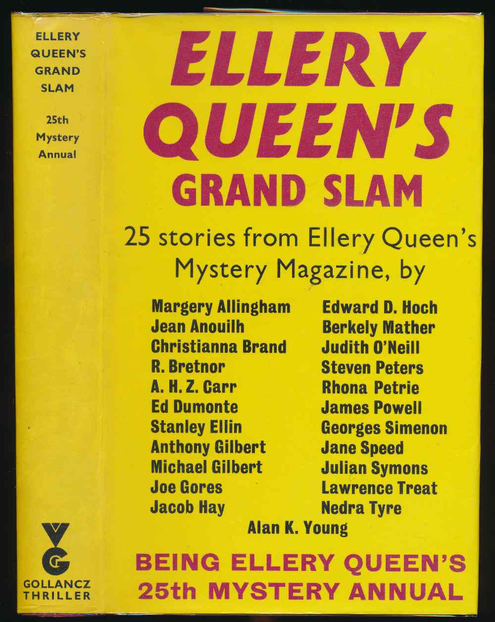 Ellery Queen's grand slam: 25 stories from Ellery Queen's Mystery Magazine