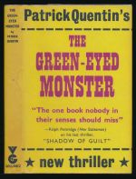 The green-eyed monster: a mystery novel