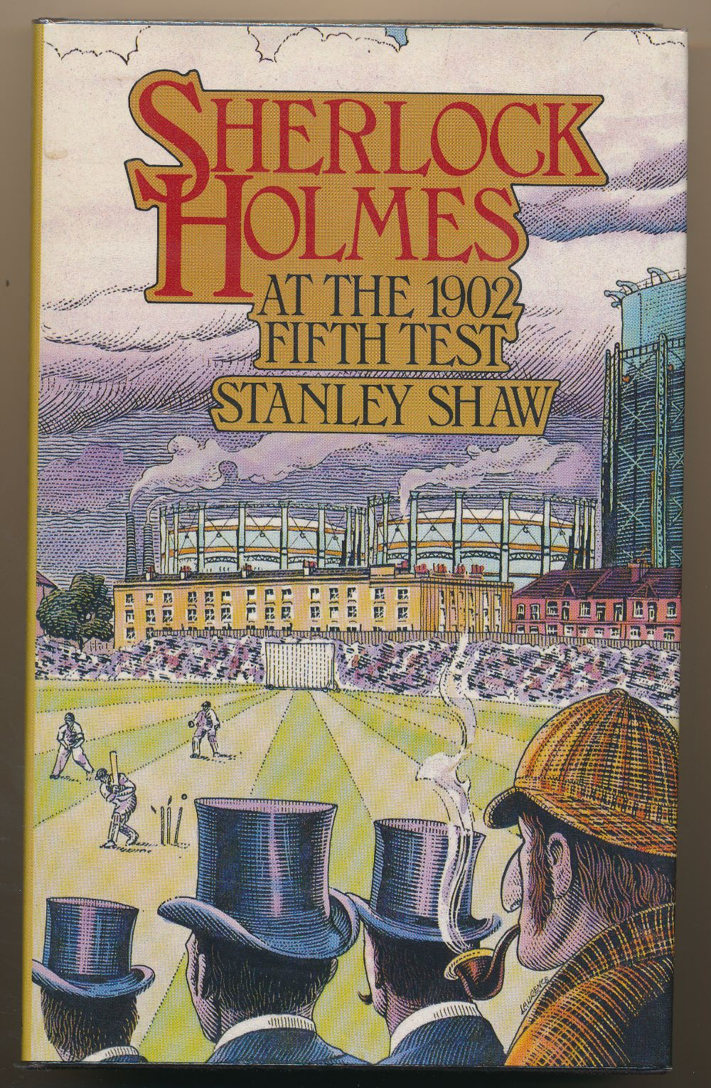 Sherlock Holmes at the 1902 Fifth Test