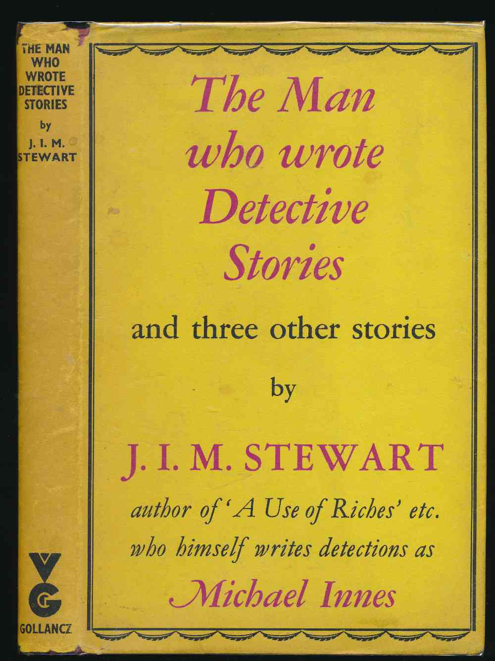 The man who wrote detective stories, and other stories