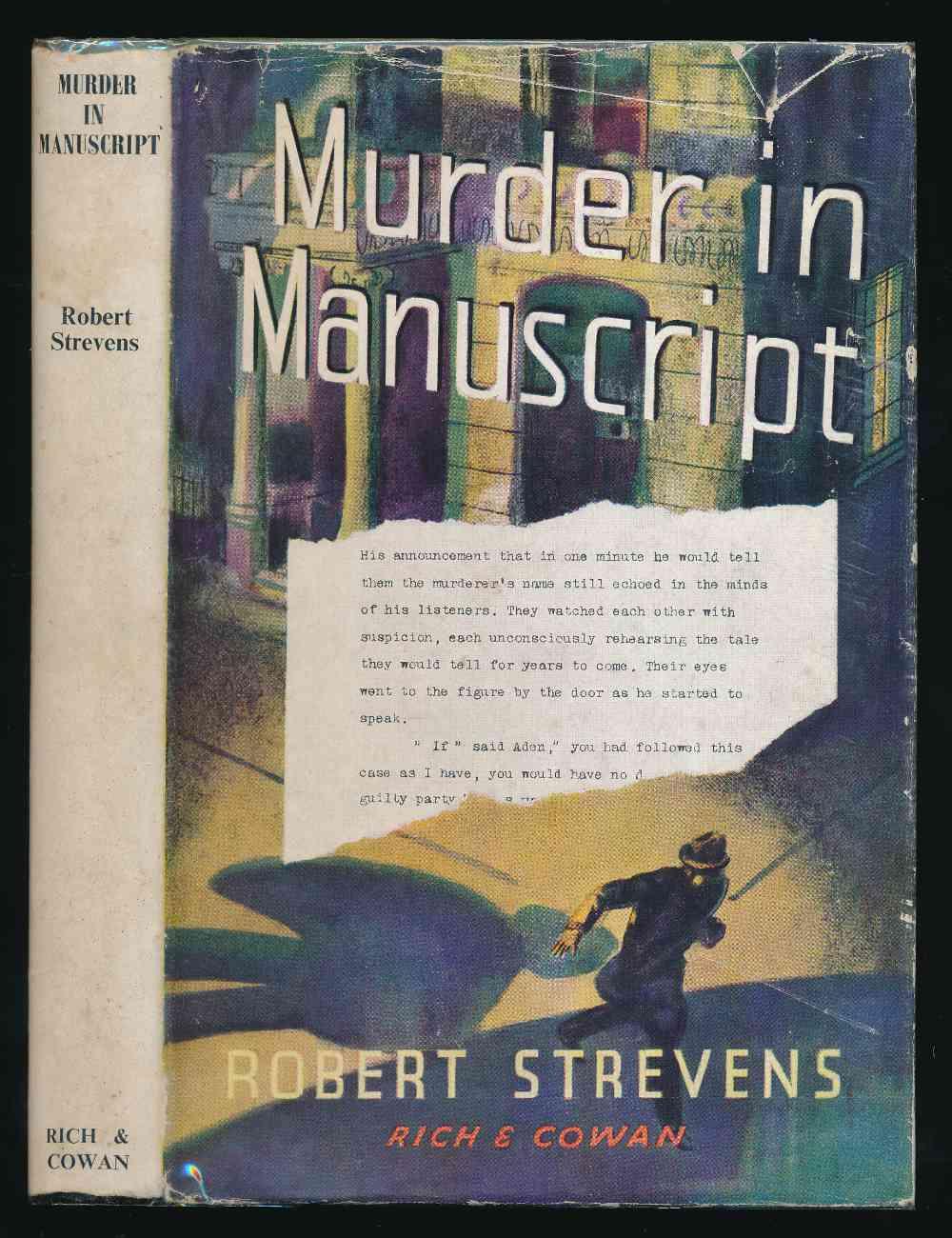 Murder in manuscript