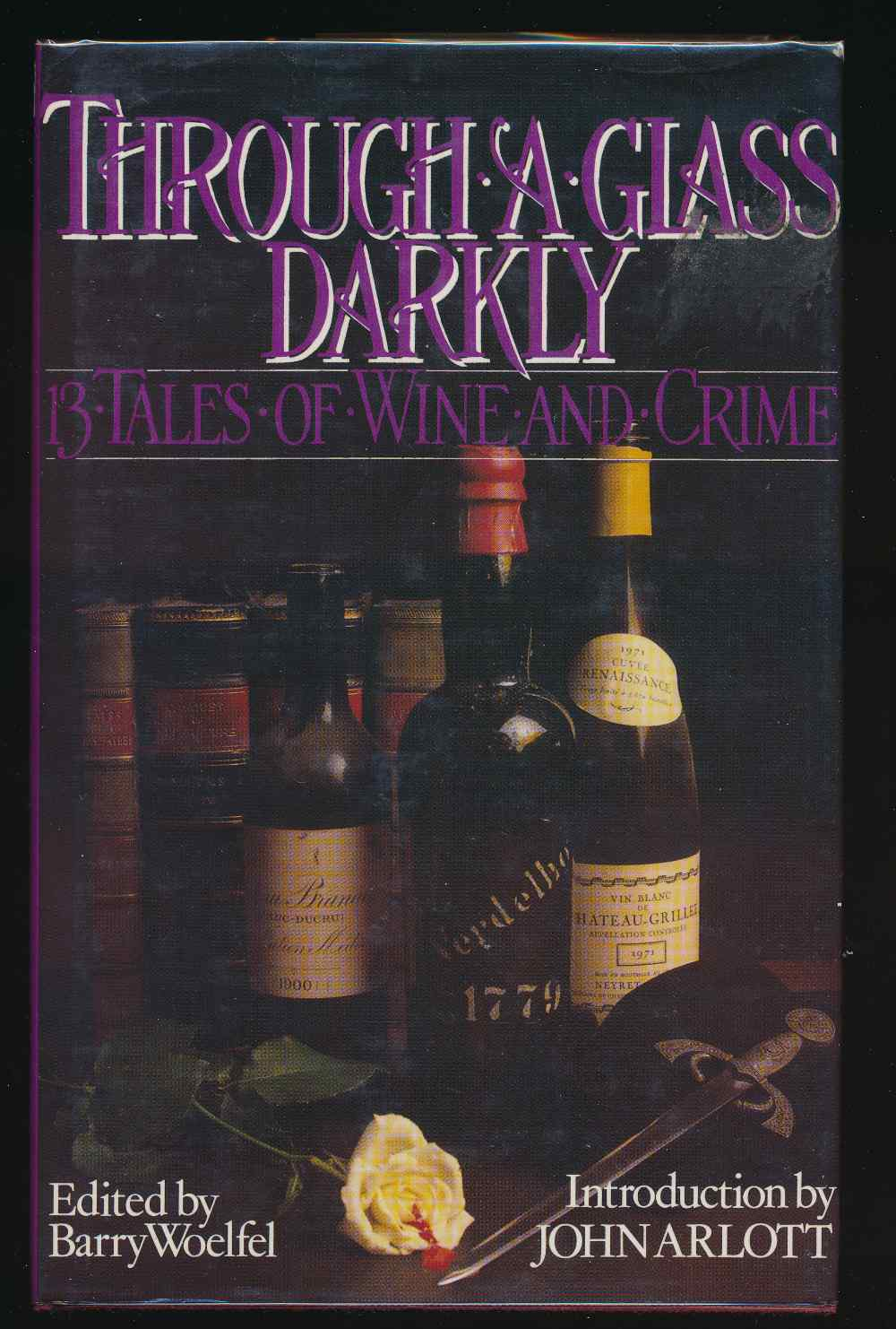 Through a glass darkly : 13 tales of wine and crime