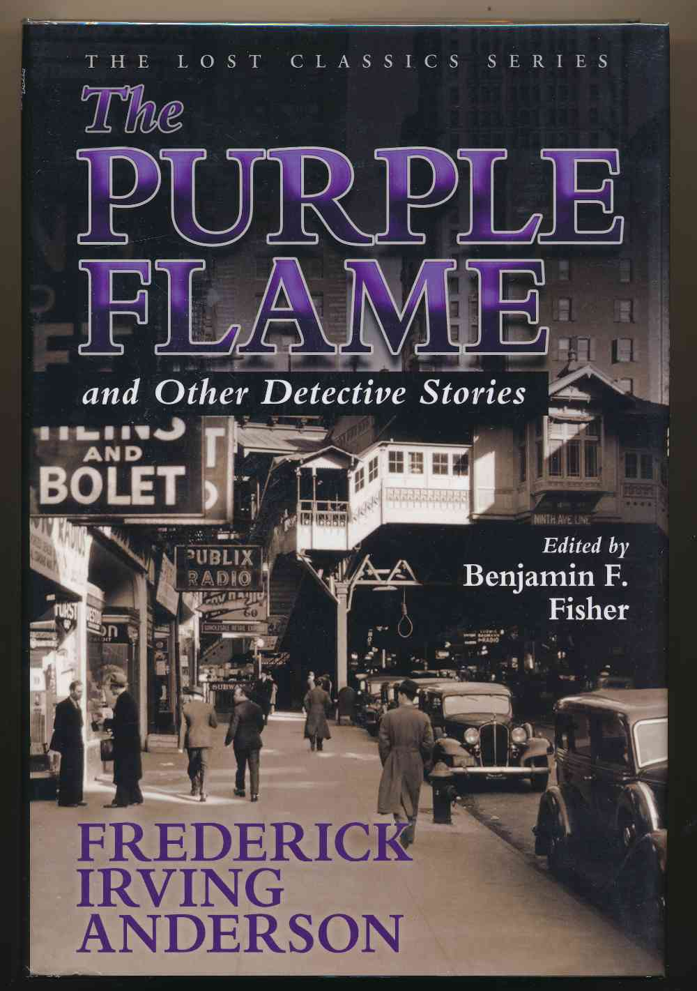 The purple flame and other detective stories