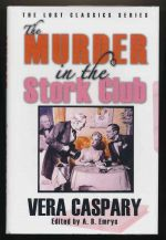 The murder in the Stork Club and other mysteries