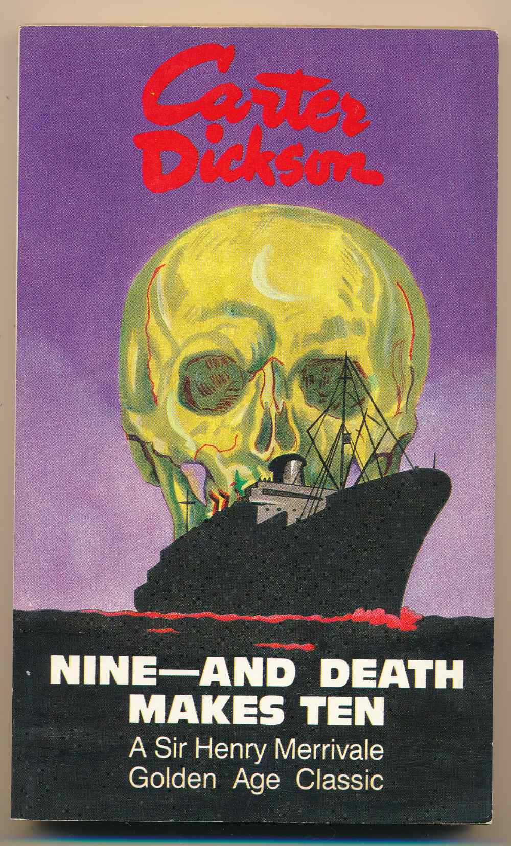Nine - and death makes ten