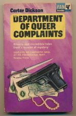 Department of Queer Complaints