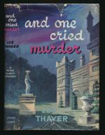 And one cried murder : a Peter Clancy mystery