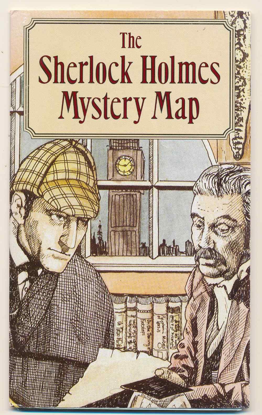 The Sherlock Holmes mystery map