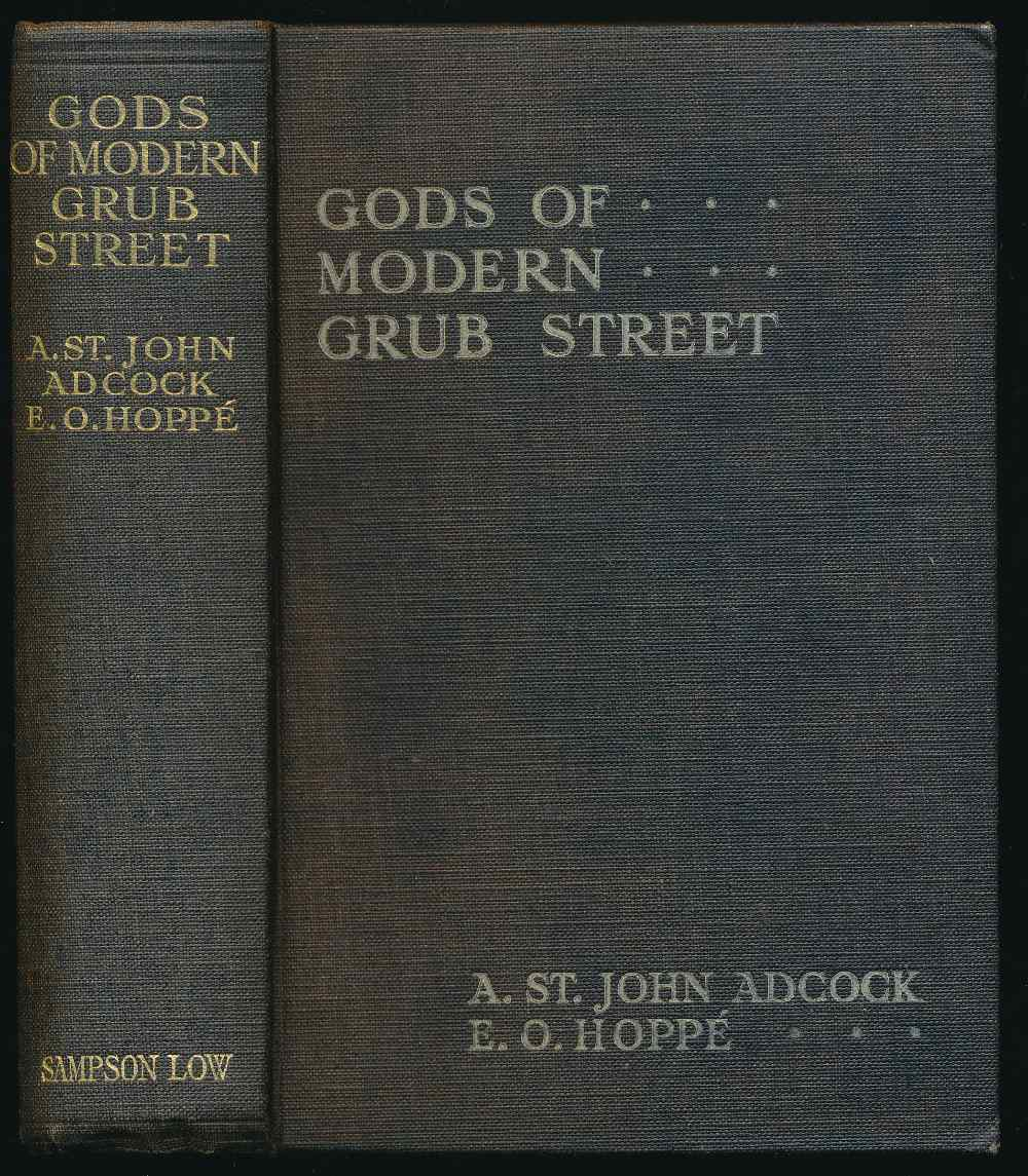 Gods of modern Grub Street : impressions of contemporary authors