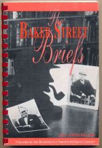 The Baker Street briefs : being the writings of S. Tupper Bigelow, BSI 'The Five Orange Pips'