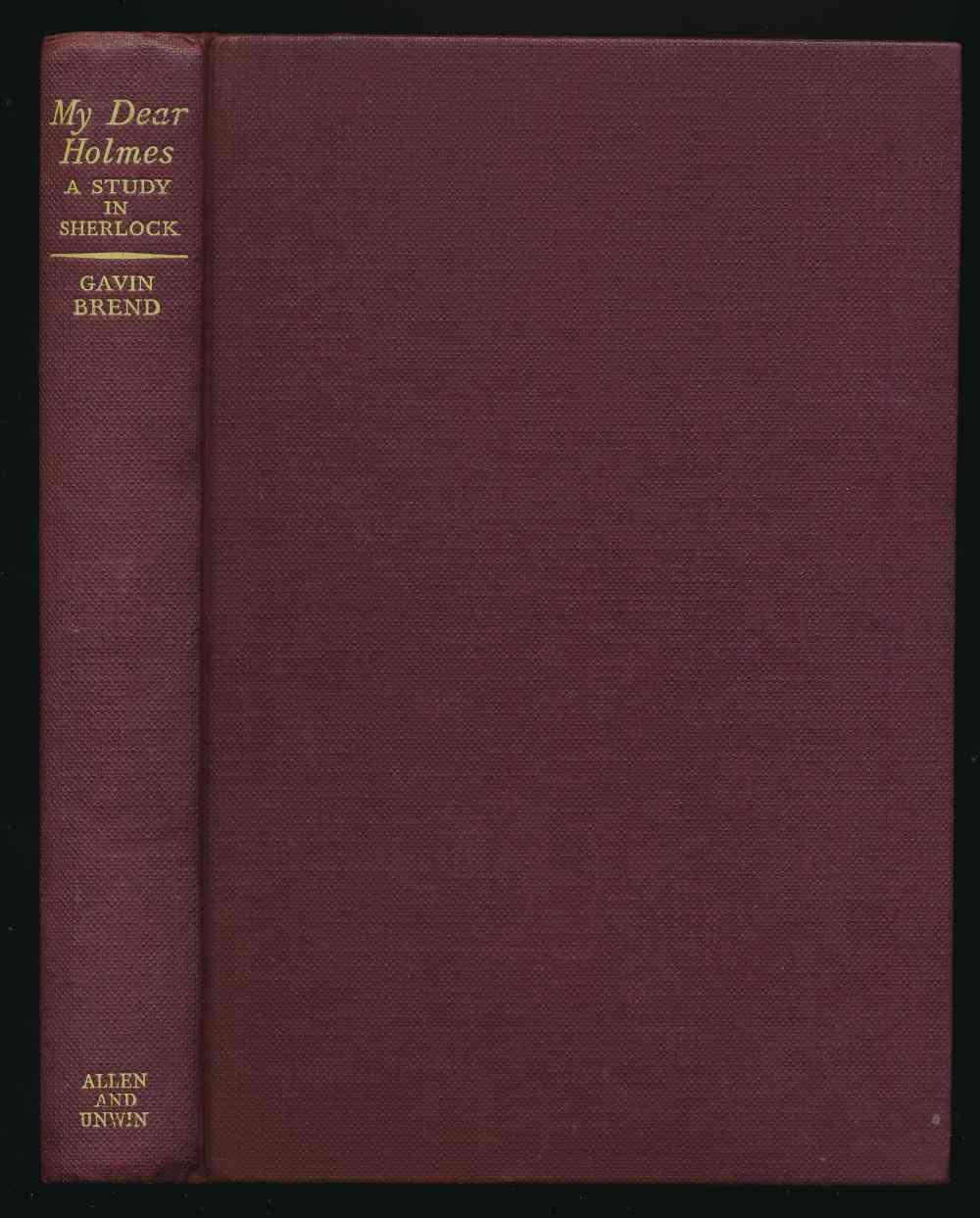 My dear Holmes : a study in Sherlock