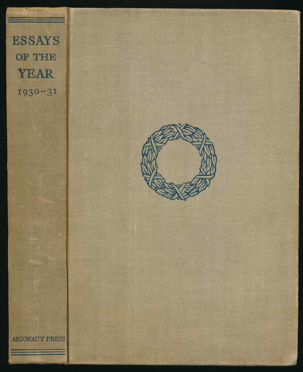 Essays of the year 1930-31