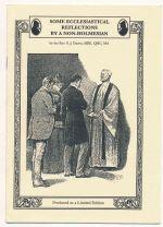 Some ecclesiastical reflections by a non-Holmesian