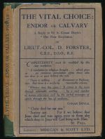 "The vital choice : Endor or Calvary : reply to Sir A. Conan Doyle's ""The new revelation"""