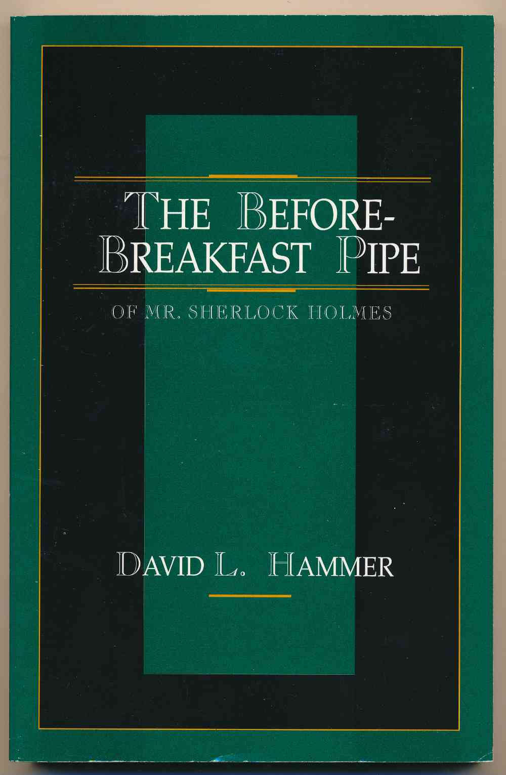 The before breakfast pipe of Mr. Sherlock Holmes