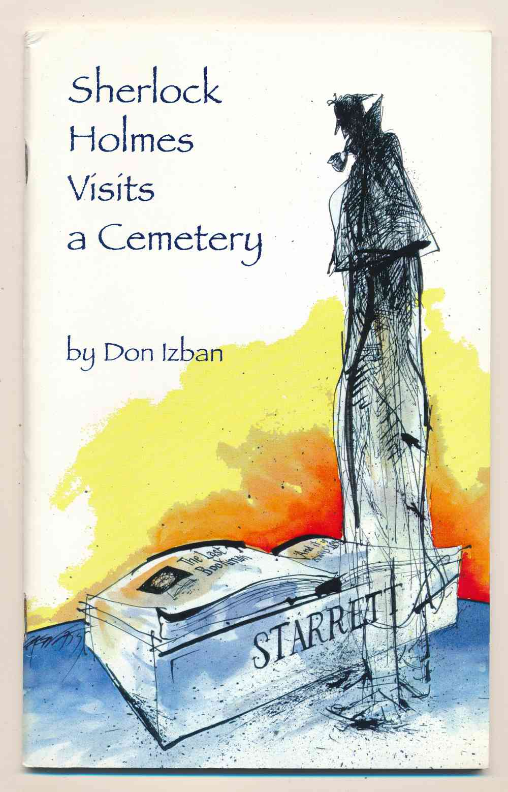 Sherlock Holmes visits a cemetery