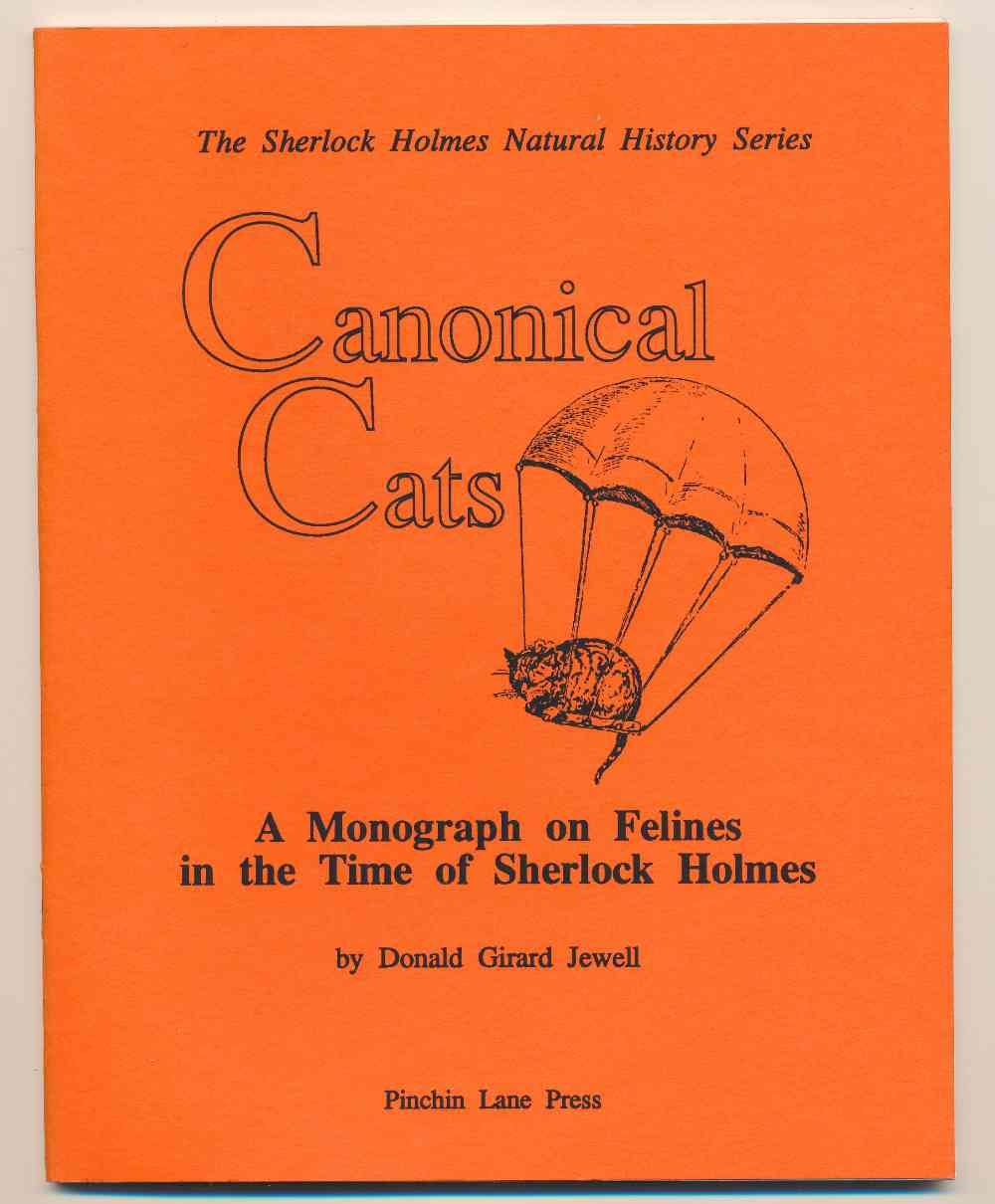 Canonical cats : a monograph on felines in the time of Sherlock Holmes