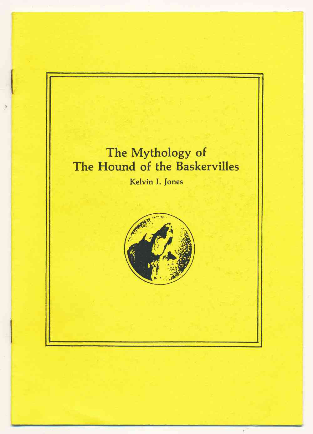 The mythology of the hound of the Baskervilles